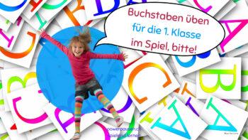 Buchstaben lernen im Spiel
