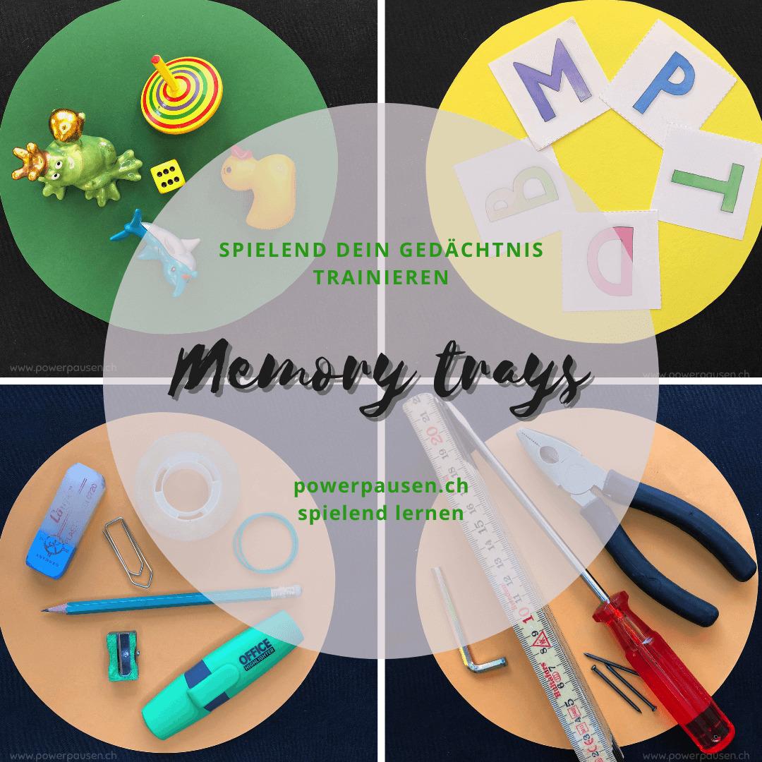 Mit Memory Trays das Gedächtnis trainieren