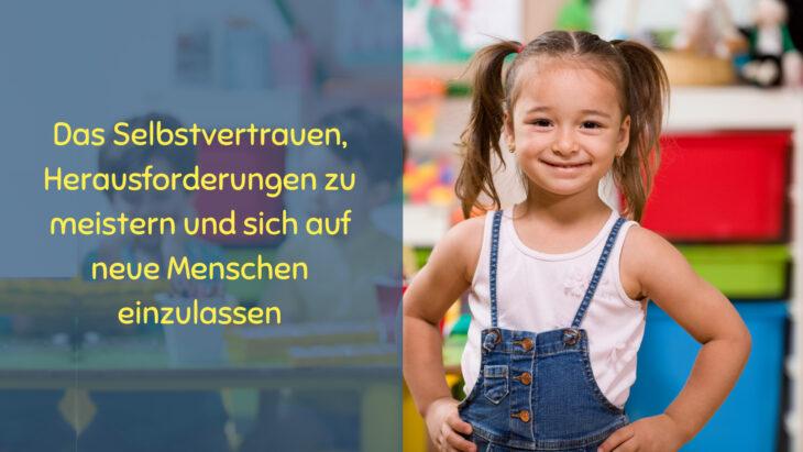 soziale, geistige und emotionale Voraussetzungen für den Kindergarten