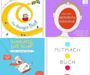 Mitmachbücher für Kinder, die noch nicht stillsitzen wollen