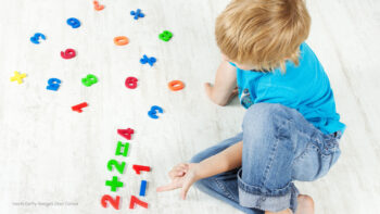 Wann beginnen Kinder zu rechnen?